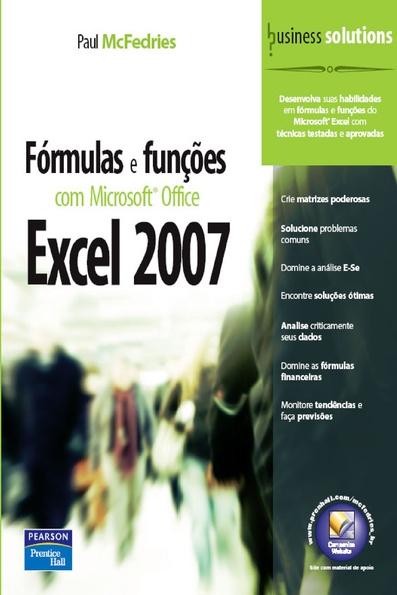 (Fórmulas e Funções com Microsoft Office Excel 2007